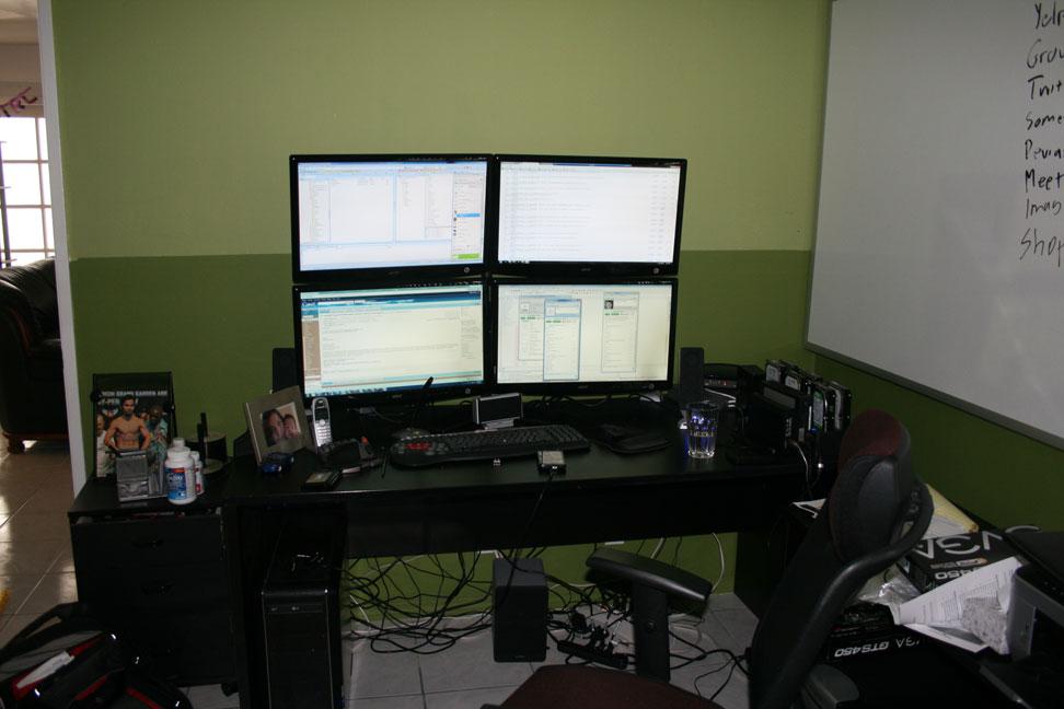 Quad Monitor Setup H Ard Forum